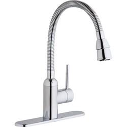 Lk2500cr Elkay Ada Polished Chrome Lf 1 Hole 1 Handle Laundry Faucet Aerated Spray CAT140F,LK2500CR,94902753430