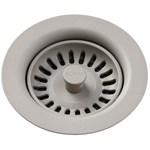 Lkqs35gr Elkay Polymer Drain Fitting W/ Removable Basket Strainer And Rubber Stopper - Greige CAT140,LKQS35GR,94902093956,