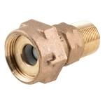 C38-23h2-2-5-nl 5/8 X 3/4 Coupling Meter Nut/mip/dual Check