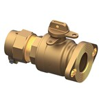 Bf43-777w-nl 2 In Flanged Ball Valve CAT641NL,BF43777WNL,