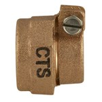 Ng-ff4 1 In Cts Pj Nut For Corporation Stop CAT641B,NG-FF4,