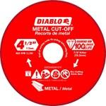 Diablo 4 5 Diamond Disc Mtl Cutting CAT500D,00008925137603