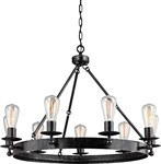 3110209-846 Generation Nine Light Chandelier