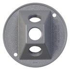 """5197-0 Raco 4"""" Round 3 Hole Cover"""