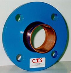 """Bf003 3"""" Cts Transition Adapter Flange Dielectric CAT425,BF003,"""