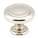 117ni Pn 1-1/4in Dia Button Cabinet Knob CATHWR,117NI,843512034961