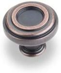 """317dbac 1-3/8"""" Diameter Zinc Die Cast Plain Lafayette Cabinet Knob"""