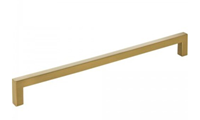 625-224sbz 233mm Overall Length Square Cabinet Bar Pull Holes Are 224 Mm Center-to-center Packaged With Two 8-32 X 1 And Two Break-away Screws Finish