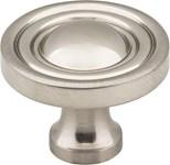 "818sn Satin Nickel 1-3/8"" Diameter Cabinet Knob"