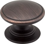 "3980-dbac Dark Brushed Antique Copper 1-1/4"" Diameter Cabinet Knob"