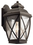 49841oz Kichler Outdoor Wall 1 Light