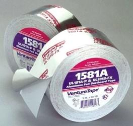 1581a 2-1/2 Venture Aluminum Ul181a-p Foil Tape CAT370V,1581A,FOIL TAPE,