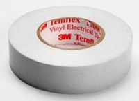 1700c-white-3/4x66ft 3m 3/4 White Vinyl Electrical Tape CAT721,1700C-WHITE-3/4X66FT,00054007506553,WET,3MET,WHET,50655,05400750655