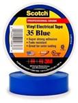 35blue34 3m 3/4 X 66 Blue Vinyl Electrical Tape CAT721,S3566BLU34,35BLUE,ETBLU,ETBL,ET,34BLUE34,054007108368,3MT,10836,BLET,3MET,3M-10836,005400710836,