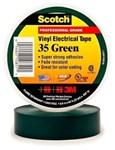 35-green34 3m 3/4 X 66 Green Vinyl Electrical Tape CAT721,S3566GRN34,35GF,35GREEN,GET,ET,ETG,054007108511,3MT,3METG,3MET,3M-10851,005400710851,