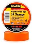 35-orange34 3m 3/4 X 66 Orange Vinyl Electrical Tape CAT721,S3566ORG34,35OF,35ORANGE,ETO,OET,ET,054007108696,3MT,3METO,3MET,3M-10869,005400710869,