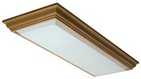11432rewh Cambridge 53.125 X 20.875 White Solid Wood Frame Flush Mount CAT753,11432REWH,11432,784231167069