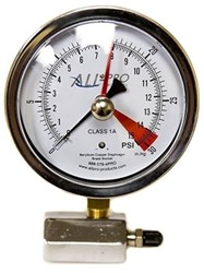 Egt405sh-cx Certified Economy 4 In Dial Face, 0-5 Psi, Gas Test Assembly Gauge CAT504,875956005306