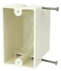 1096-n Amp 18 Cu In 1 Gang Beige/tan Electrical Box CATAMP,08533924414,SHL1096N,