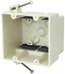 2300-nk Amp 32.5 Cu In 2 Gang Beige/tan Electrical Box CATAMP,08533912127,SHL2300NK,