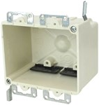 9312-ewk Amp 28 Cu In 2 Gang Beige/tan Electrical Box CATAMP,08533929111,SHL9312EWK,