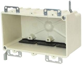 9313-ewk Amp 42.5 Cu In 3 Gang Beige/tan Electrical Box CATAMP,08533910094,SHLAL9313EWK,