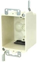 9331-ew Amp 14 Cu In 1 Gang Beige/tan Electrical Box CATAMP,08533938500,SHL9331EW,