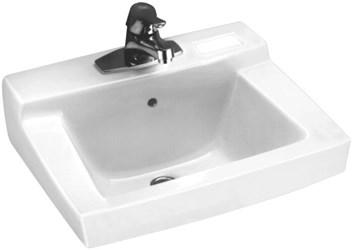 0321026020 A/s Declyn White 3 Hole Wall Mount Bathroom Sink CAT111C,0321026,0321026020,0321,0321020,04142121002438,00423083789514,00423083318125,ASWHL,033056042304,