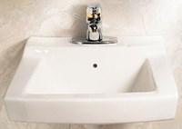 0321075020 A/s Declyn White 3 Hole Wall Mount Bathroom Sink