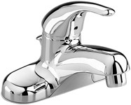 2175502002 As Colonysoft Polished Chrome Ada Lf 4 Centerset 3 Hole 1 Handle Bathroom Sink Faucet 1.2 Gpm