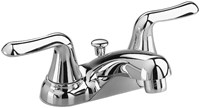 2275500002 As Colonysoft Polished Chrome Ada Lf 4 Centerset 3 Hole 2 Handle Bathroom Sink Faucet 1.2 Gpm CATO117E,2275500,2275,2275002,2275CP,50012611267895,50012611267890,50012611,green,WATER EFFICIENT,WATERSENSE,C4LV,012611267895