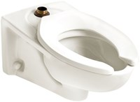 3351101020 As Afwall Ada White 1.1 To 1.6 Gpf Elongated Wall Toilet Bowl CAT111C,3351101020,2257001020,2257001.020,AER,AEB,3351,791556024953,