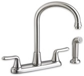 4275551002 As Colonysoft Ada Pol Chrome Lf 8 In Centerset 3 Hole 2 Handle Kitchen Faucet Color Matched Handspr CATO117E,4275551002,4275551,942611329036,30012611329037,4275,ASKSF,green,WATER EFFICIENT,C4K,7074551002,7074.551.002,012611329036