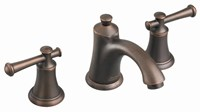 7420801224 As D-w-o Portsmouth Oil Rubbed Bronze Ada Lf 6 To 12 Widespread 3 Hole 2 Handle Bathroom Sink Faucet 1.2 Gpm CAT117L,7420.801.224,012611470165,7420801224,green,WATER EFFICIENT,WATERSENSE