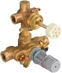 R522s 2-hdl Thermo Rgh Valve W/2way Div-shared CAT117L,R522S,012611580475