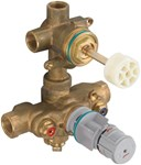 R523s 2-hdl Thermo Rgh Valve W/3way Div-shared CAT117L,R523S,012611580468