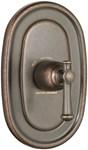 T420.730.224 D-w-o Portsmouth Central Thermo Trim - Lever - Oil Rubbed Bronze A/s CATO117L,T420.730.224,012611470394,T420730224