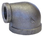 1 X 3/4 Black Mal Iron Standard 90 Elbow Domestic CAT442D,DBLGF,BDLGF,YLGF,47,30662467322401,69029134651