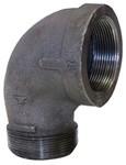 1/2 Black Mal Iron Standard 90 Street Elbow Domestic CAT442D,DBSTLD,BDSTLD,YSTLD,50,20662467333905,69029134703