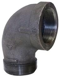 3/4 Black Mal Iron Standard 90 Street Elbow Domestic CAT442D,DBSTLF,BDSTLF,YSTLF,50,20662467334001,69029134704
