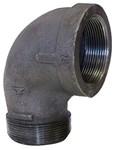 1 Black Mal Iron Standard 90 Street Elbow Domestic CAT442D,DBSTLG,BDSTLG,YSTLG,50,20662467334100,69029134705