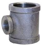 1 X 3/4 X 3/4 Black Mal Iron Standard Tee Domestic CAT442D,DBTGFF,BDTGFF,YTGFF,52,20662467340002,69029134592