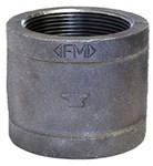 1 Black Mal Iron Banded Coupling Domestic CAT442D,DBCG,BDCG,YCG,53,20662467355402,69029134821