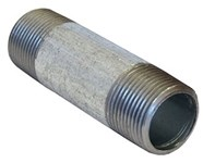 1 X 10 Galvanized Sch 40 Nipple Mipxmip Domestic CAT443D,GDNG10,DGNG10,1G10,690291352010
