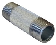 1 X 12 Galvanized Sch 40 Nipple Mipxmip Domestic CAT443D,GDNG12,DGNG12,1G12,690291352034