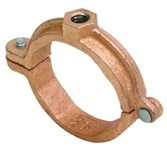 Ct138r 1-1/4 In Copper Plated Malleable Iron Tubing Clamp CAT444,0560018939,0560018939,0560018939,69029153714,H73125,H73-125,66242891870,717510383751