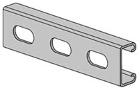 2400104721 As500-eh-20 1-5/8 In X 13/16 In X 20 Ft Anvil-strut 14 Ga Pre-galv Steel Channel Slotted Holes CAT755A,1100,PS500EH20,B1400HS,B12HS,C14HS,C14HSX20PG,C14HS,75513900,PS-500-EH-20-PG,US20,AUS,GSF,69029123810