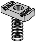 2400205502 Asls 1/4 In Anvil-strut Eg Steel Clamping Nut W/ Long Spring CAT755A,SNB,3100,PSLS1/4,A100,SPRA,SPRD1/4,SPRA1/4,SPRA0025EG,75550100,SPRA-1/4,75519454,14SP,PS-LS-EG,69029123832,