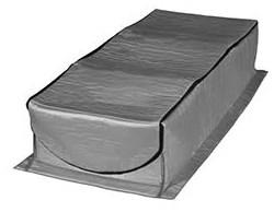 At-4 54 X 25 X 13 Nylon Fabric/polyurethane Attic Tent CATTENT,AT4,30673689025131,