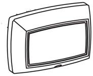 269-186 Bradley Silver Push Button